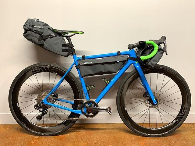 Prepared For Bike Packing Check A Completely Enve D Out Open