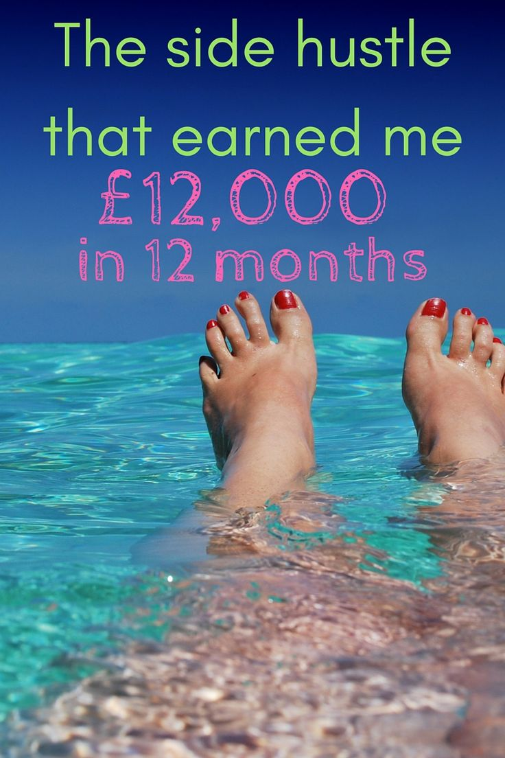 The number one side hustle that earned me £12,000 over 12 months, completely tax free! This gave me the confidence to leave my job and my husband has also left his job too. Every day we are living the lives we want. Click through to read more or pin it for later. You won't want to miss it.