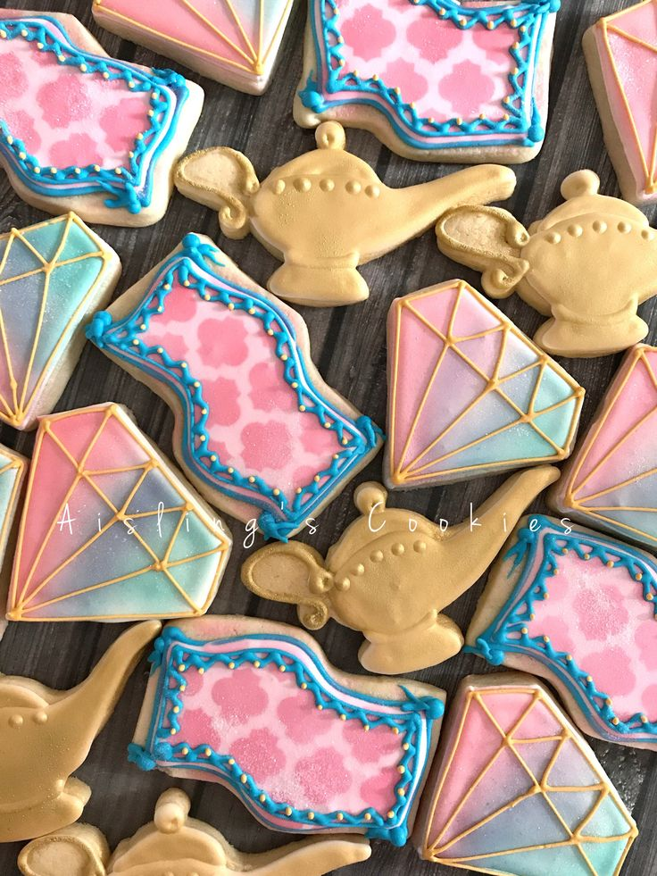 Shimmer and Shine cookies