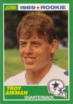 MY HERO SINCE I WAS 4 and my older bro told me I'd be a Cowboys fan becuase of Troy. :)