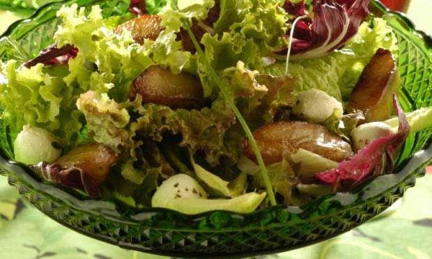 Receitas de saladas incrementadas para festas e ocasiões especiais - Culinária - MdeMulher - Ed. Abril