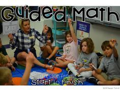 Guided Math Video: A lesson from start to finish - Tunstall's Teaching Tidbits, small group math, guided math, small group lesson, math lesson video