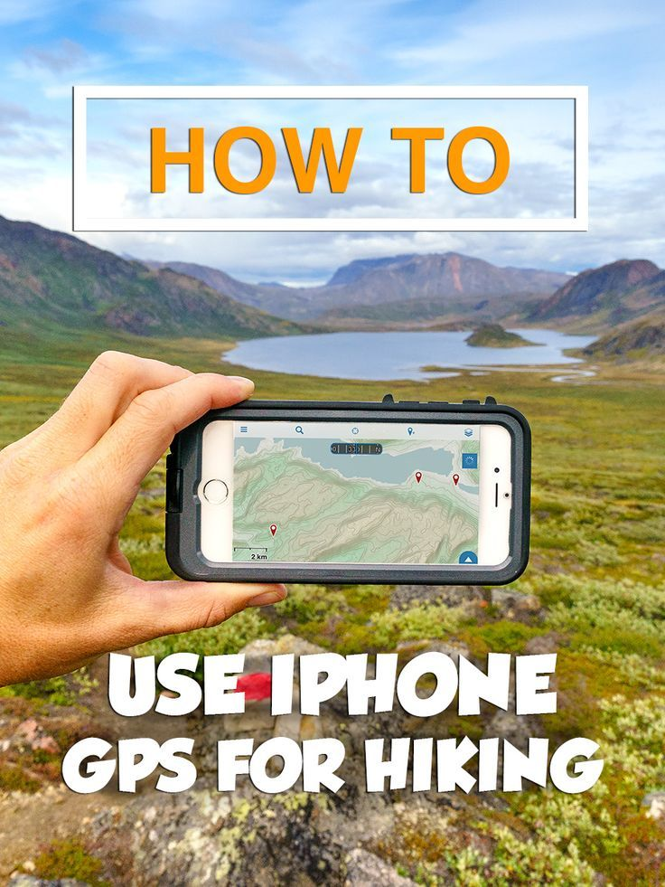 Using Your Smartphone GPS for Hiking