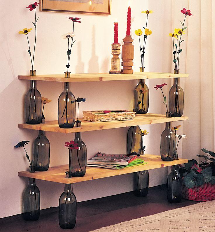 Bottiglie di vetro? Ecco 30 idee di riciclaggio creativo! - www.dettoChiaramente.it