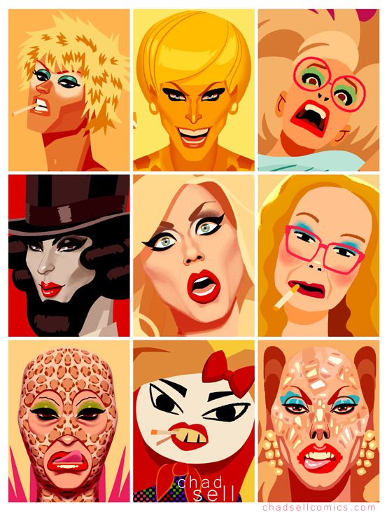 Katya collage - Chad Sell