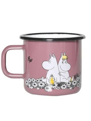£15 Together Forever, Moomintroll and Snorkmaiden enamel mug