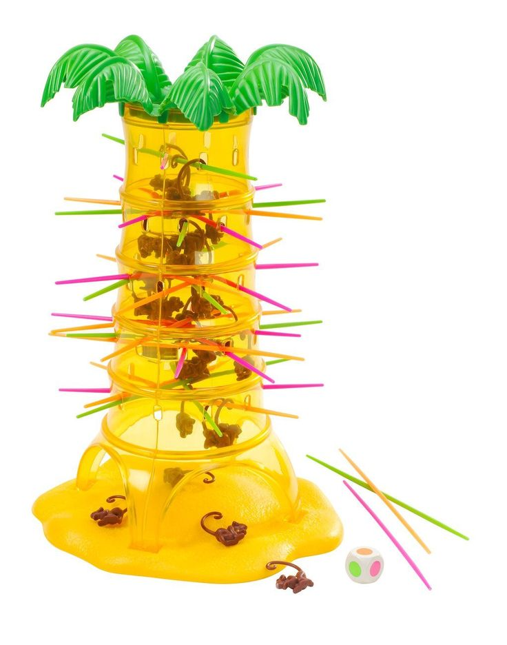 Mattel Tumblin' Monkeys - Game (52563)  Manufacturer: Mattel Barcode: 5011363525630 Enarxis Code: 015826 #toys #Mattel #boardgames #monkeys