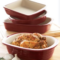 Pampered Chef Deep Covered Baker Chicken recipe