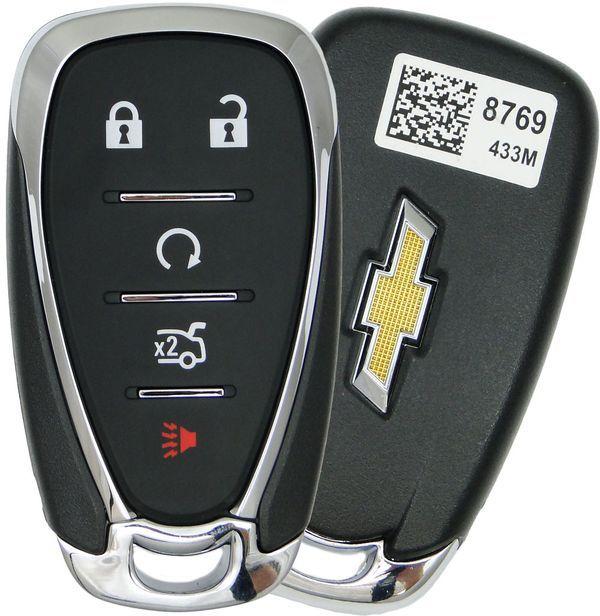 2017 Chevrolet Cruze Smart Keyless Entry Remote Key W Engine