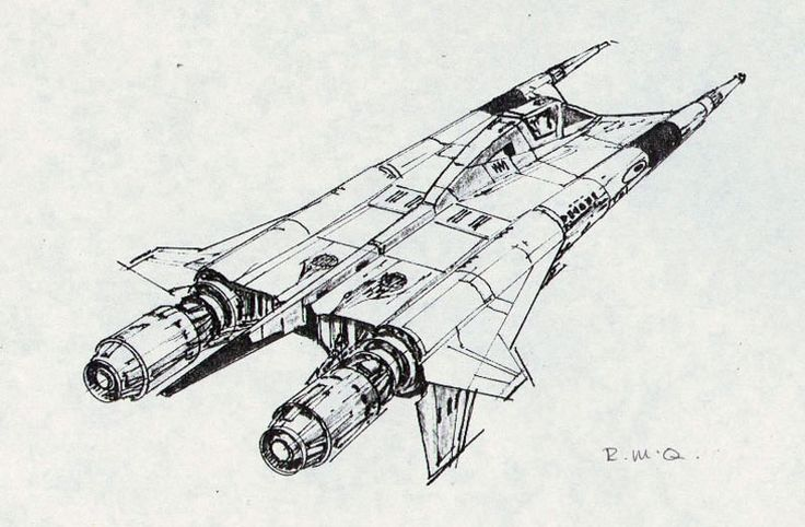 Gavin Rothery - Directing - Concept - VFX - Gavin Rothery Blog - Spaceships that became other Spaceships #2: The ColonialViper