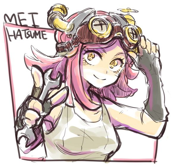 Boku no Hero Academia    Hatsume Mei