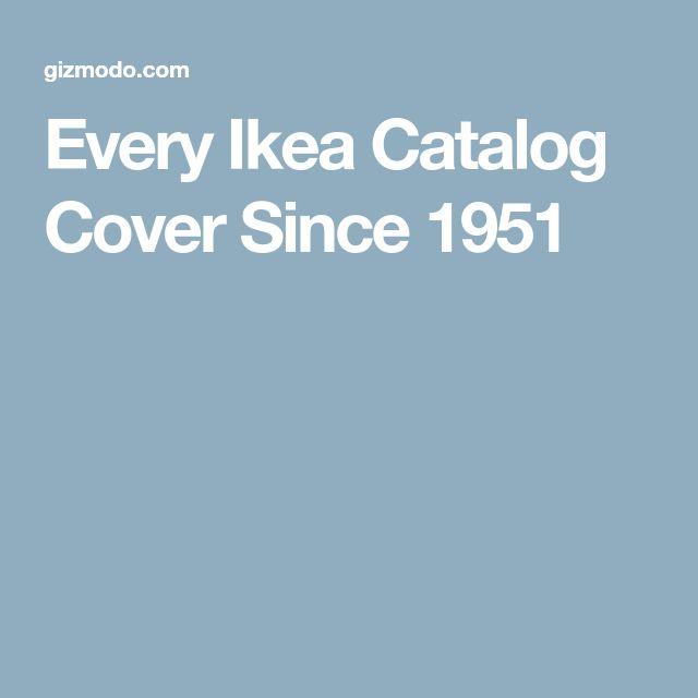 Every Ikea Catalog Cover Since 1951