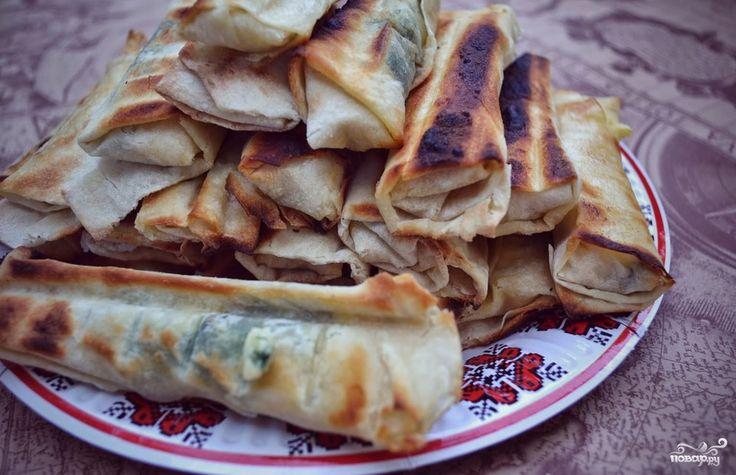 Сулугуни в лаваше на сковороде - пошаговый кулинарный рецепт с фото на Повар.ру
