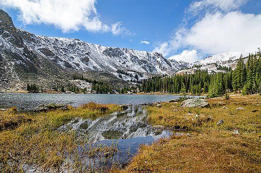 Robert VanDerWal - Diamond Lake Reflection