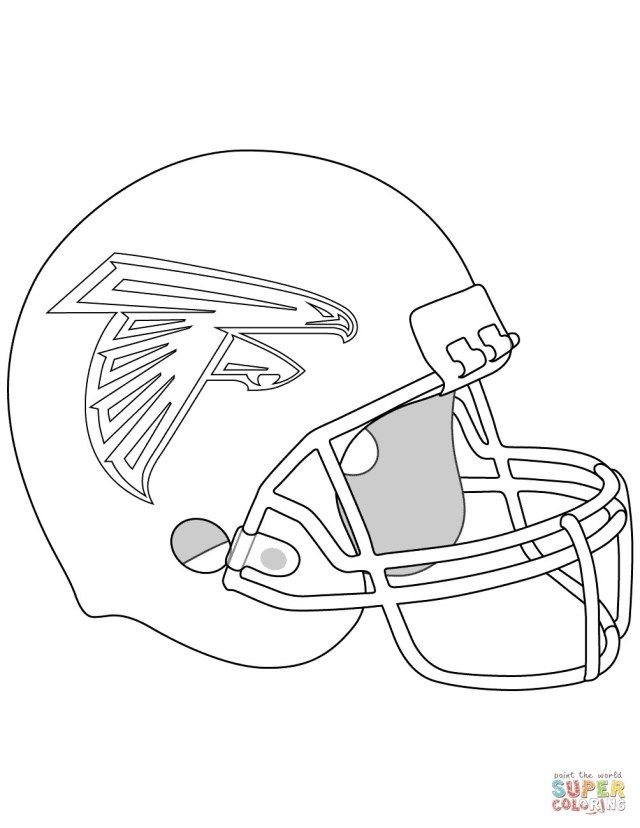 25 Creative Picture Of Football Helmet Coloring Page Albanysinsanity Com Football Coloring Pages Atlanta Falcons Helmet Sports Coloring Pages