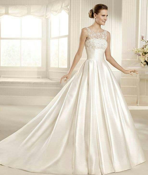 Mejores 381 imágenes de WEDDING DRESSES en Pinterest | Vestido de ...