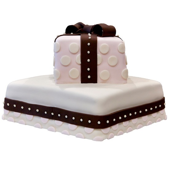 Gift cake.  The best present you will ever get.  Also available in purse and shoe styles.