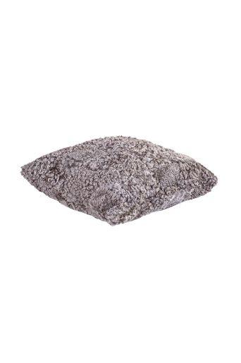 Shepherd Ljusgrå Elin fårskinnskudde 40x40 cm