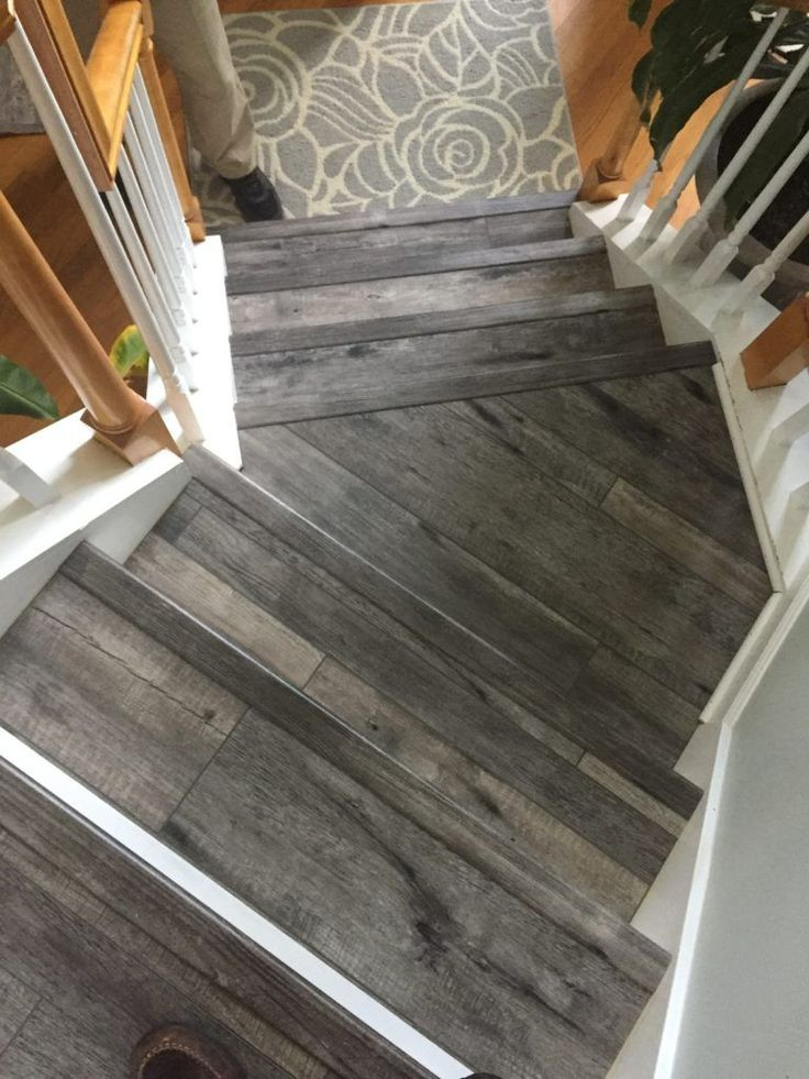 luxury vinyl flooring stairs Jamestown   Stairs vinyl ...