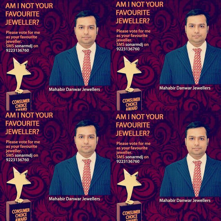 "Visit MAHABIR DANWAR JEWELLERS at East India's largest Jewellery Exhibition. Stall No. A22, ""Sonar Sansar"", Netaji Indoor Stadium, 4- 7 Dec,  Also, please do vote for us by sending SMS 'sonarmdj' to 09223136760 & make us Kolkata's favourite jeweller"