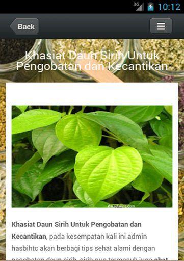 Herbal Lengkap Natural merupakan Aplikasi Obat tradisional herbal yang berisi aneka khasiat tanaman obat asli Indonesia. <br>Addapun yang akan dibahas dalam aplikasi ini antara lain :<br>1. Aneka Jenis Tanaman Obat obatan<br>2. Obat radang ginjal<br>3. Khasiat Kunyit<br>4. Khasiat Kunyit putih<br>5. manfaat daun ketumbar<br>6. manfaat buah mahkota dewa<br>7. khasiat daun siri<br>8. manfaat merah delima<br>9. cara mengobati amandel tanpa operasi<br>10. manfaat buah strawberry<br>Dan masih…