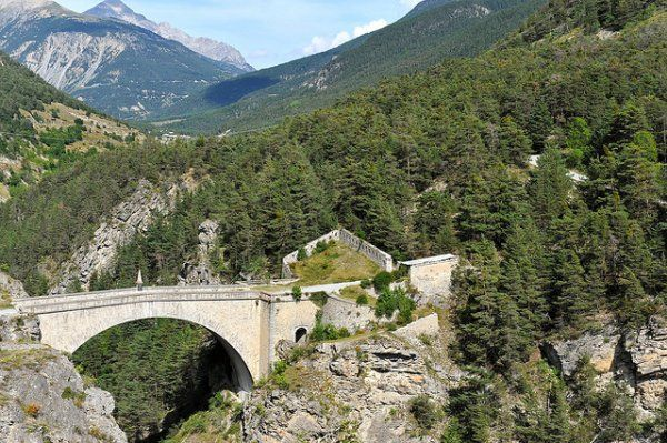 Pont d'Asfeld (Briançon) © Gilles Messian