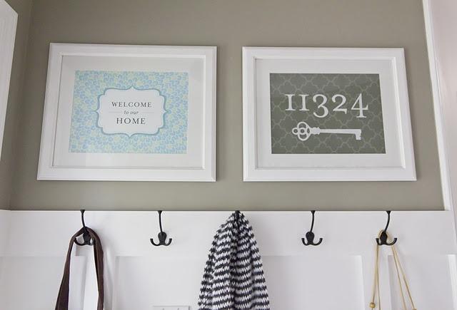 Valspar's Magic Spell: Entryway Idea, House Numbers, Jenna Sue