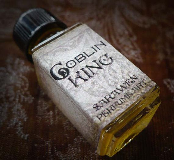 GOBLIN KING Perfume Oil - Labyrinth inspired - by SaraWen on Etsy, $12.50