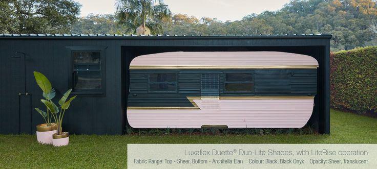Caravan and side of River Shack - repaint design! Three Birds Renovations House 7, River Shack