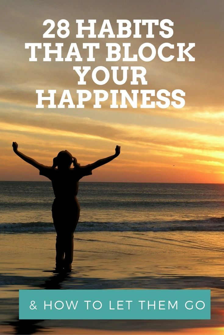 You might be happy in some areas of your life but not others. If you want to know how to be happy in all areas of your life and with yourself then you must check out which of these 28 habits are blocking your happiness and discover new habits you can replace them with. Become happy again with these powerful tips. https://www.pinchmeliving.com/28-habits-that-block-your-happiness/ via @pinchmeliving