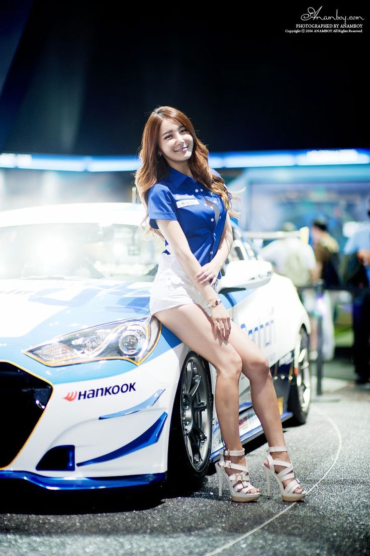 Bang Eun Young Busan Motor Show 2014 Purple Motorsport
