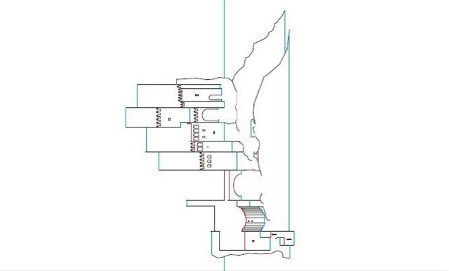 Шаблоны киригами - Замок Велес Бланко