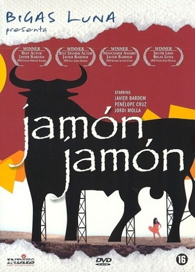 Jamon Jamon, Bigas Luna. I fell in love with Javier Bardem from this movie. #learnspanish