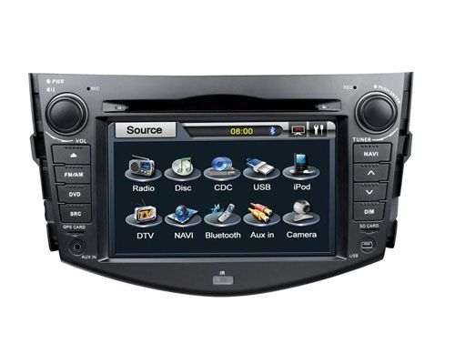 Toyota RVA4 Autoradio DVD GPS with Digital TV Bluetooth ...