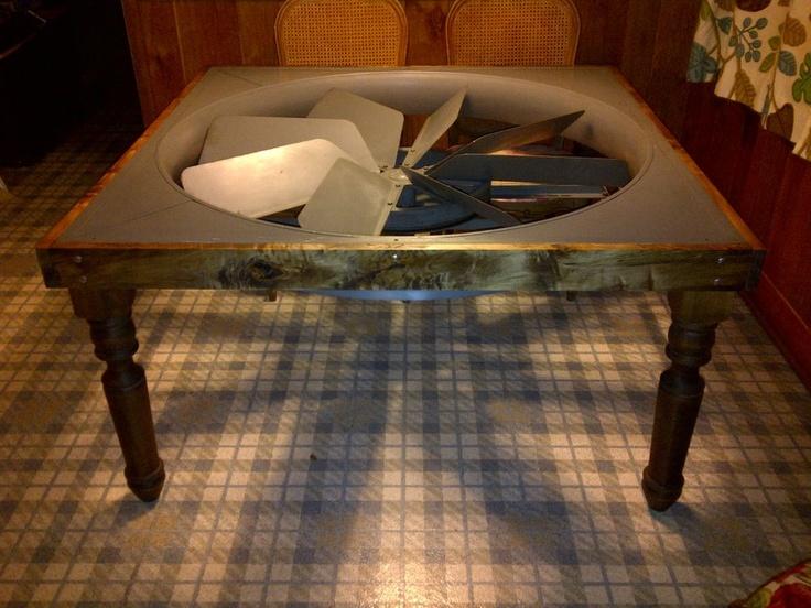 Unique Table Idea Using Osborne Dining Legs
