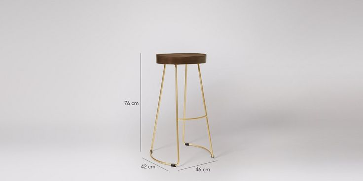 Welles Bar Stool   Swoon Editions