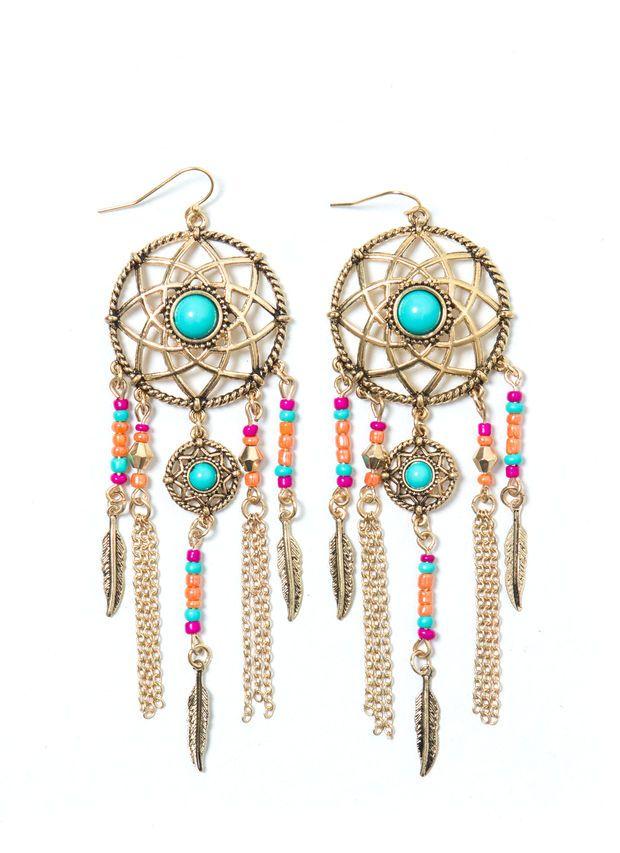 Follow Ur Dream Catcher Earrings
