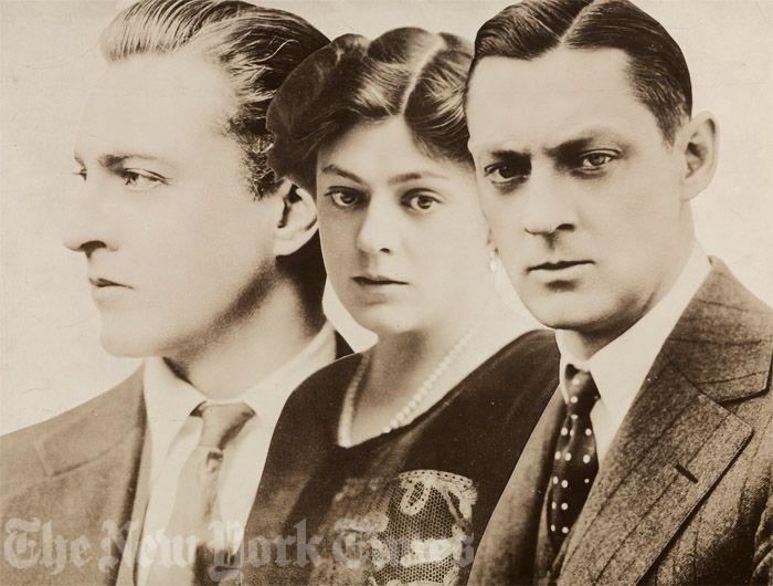 John, Ethel and Lionel Barrymore
