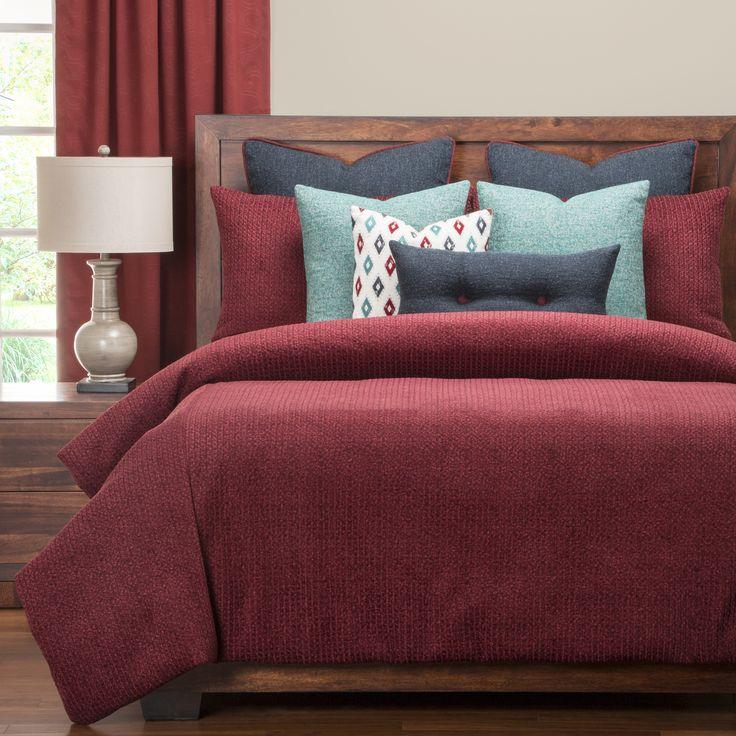 PoloGear Tumbleweed Crimson Luxury Duvet Cover Set