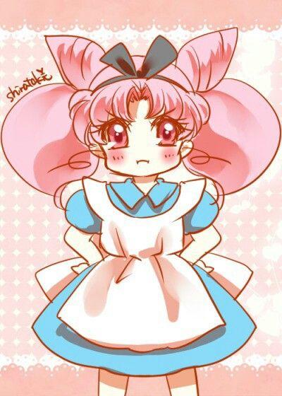 Chibiusa as Alice