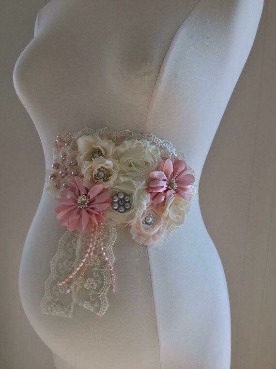 Instead of Bow Baby Shower Hat... Try Hand Made Baby Shower Sash!!!