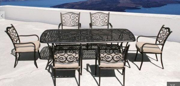 Aluminium Garden Furniture Sets