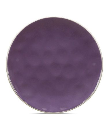 Love this Purple Krinkle 8'' Side Plate - Set of Six on #zulily! #zulilyfinds