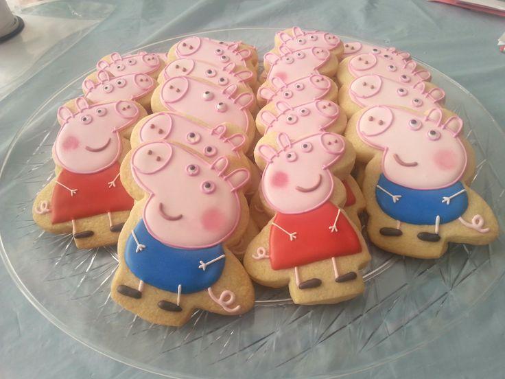 George & Peppa Pig   Cookie Connection