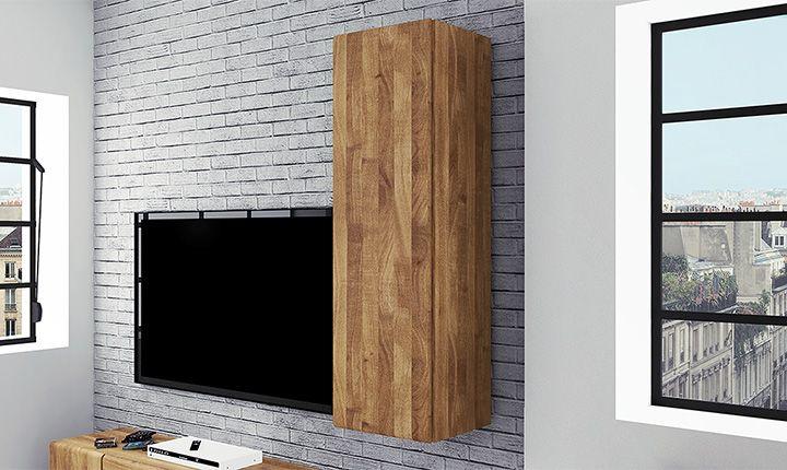 Wandschrank Seti Hoch 1 T Holz Massiv Furniture Mobel Inneneinrichtung Einrichtung Regal Schrank Schranke Vitrinen Wandschrank Vitrine Weiss