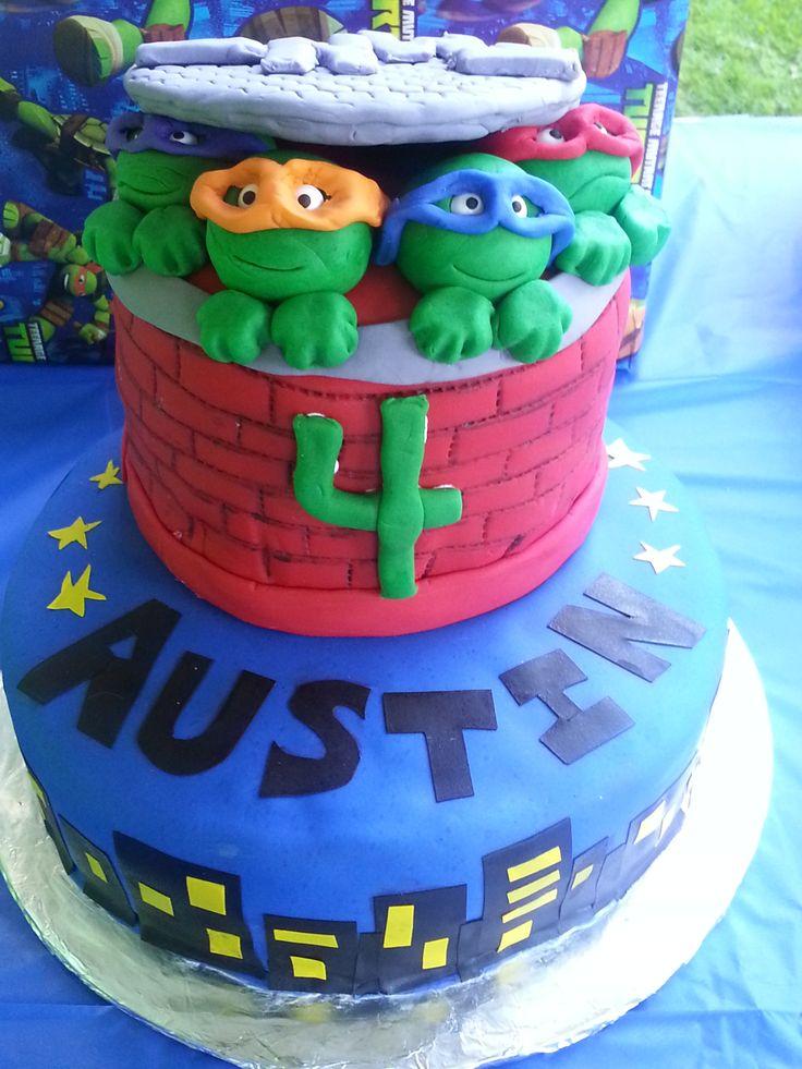 Birthday cake - all edible.