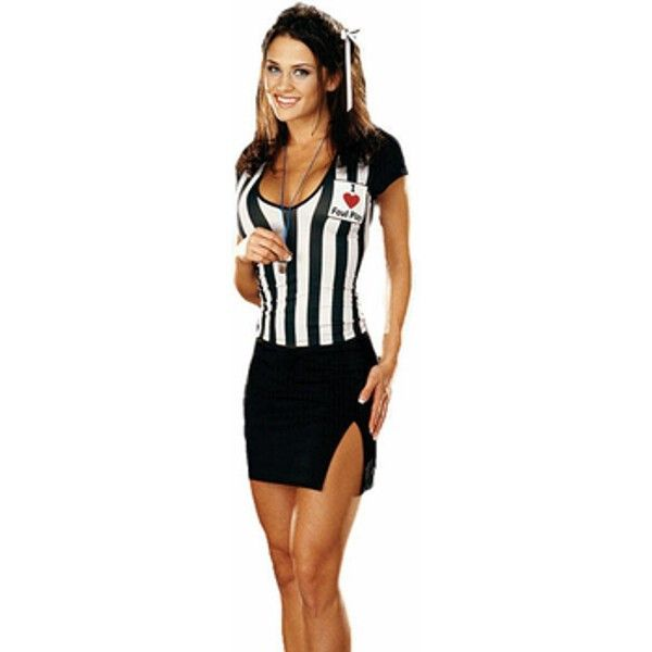 Adult Sexy Referee Costume