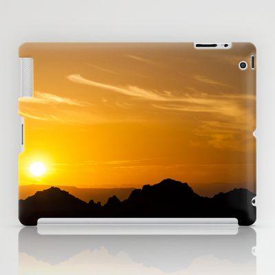 Sunset iPad Case by Oscar Tello Muñoz - $60.00