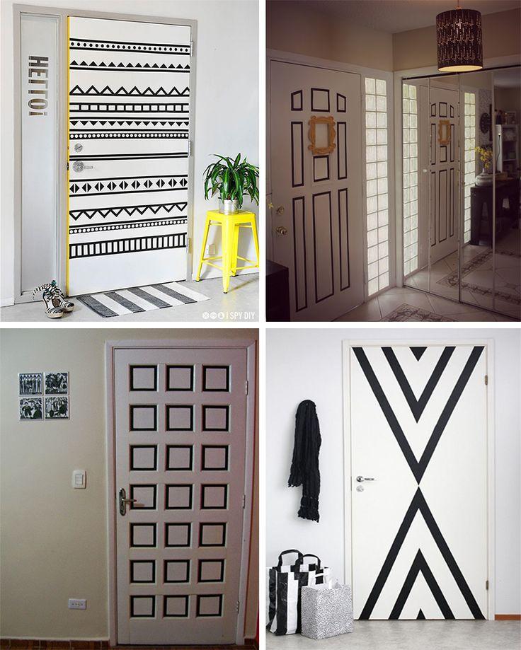 4 ideias para decorar a casa usando fita isolante