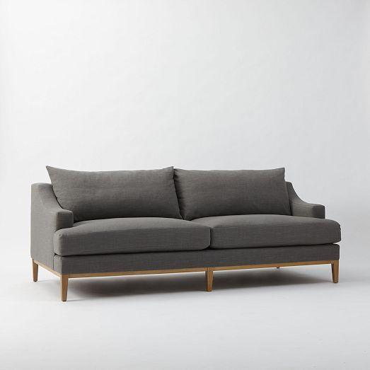 montgomery down filled sofa westelm possible living. Black Bedroom Furniture Sets. Home Design Ideas